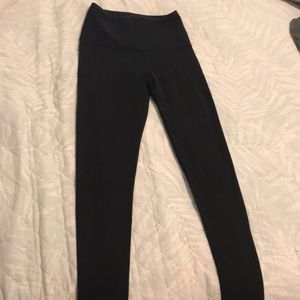 High waisted black Lucy leggings